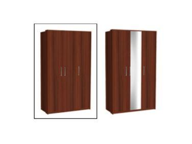 Zeppelin 3 ajtós szekrény csokoládé