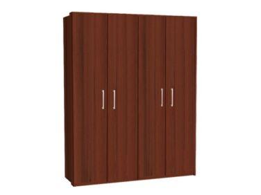 Zeppelin 4 ajtós szekrény csokoládé
