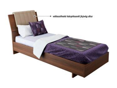 Kiegészítő kárpitozott fejvég Zeppelin 90-es ágyhoz (cappuccino)