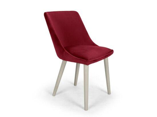 Alberta burgundi szék Milk pácolt lábbal