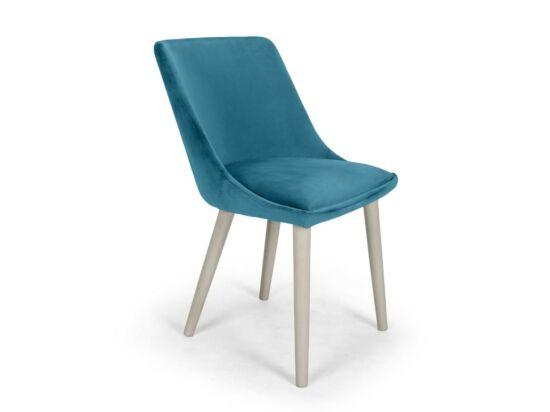 Alberta türkiz szék Milk pácolt lábbal