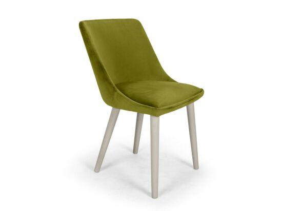 Alberta limezöld szék Milk pácolt lábbal