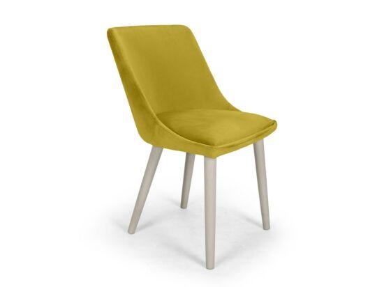 Alberta mustársárga szék Milk pácolt lábbal