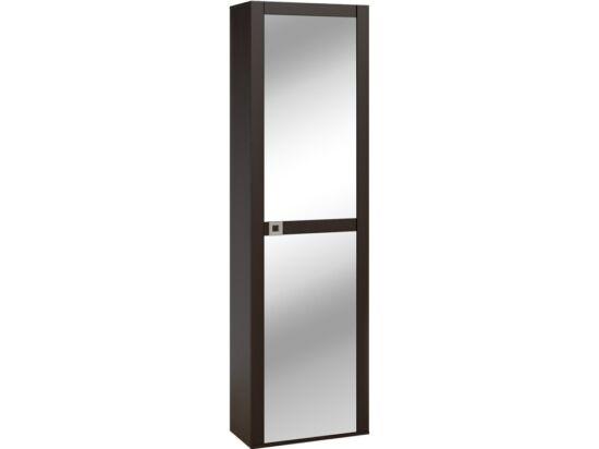 Domino egy tükörajtós előszoba szekrény polcos