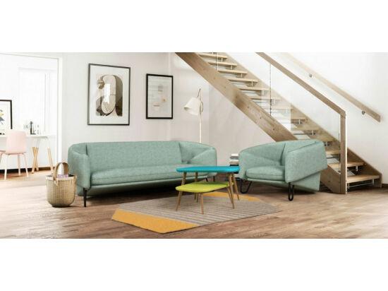 MobilaDalin Flow kétszemélyes kanapé kék