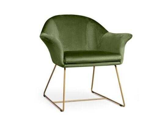 Form világoszöld fotel