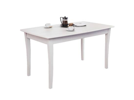 Arcade 8 személyes nyitható asztal krém színben