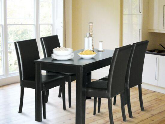 BINGO asztal + 4 wenge BINGO szék összeállítás