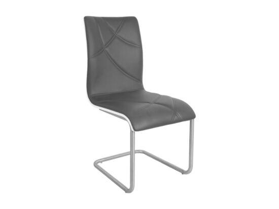 DECO szürke textilbőr szék (2 darabos csomagban rendelhető)