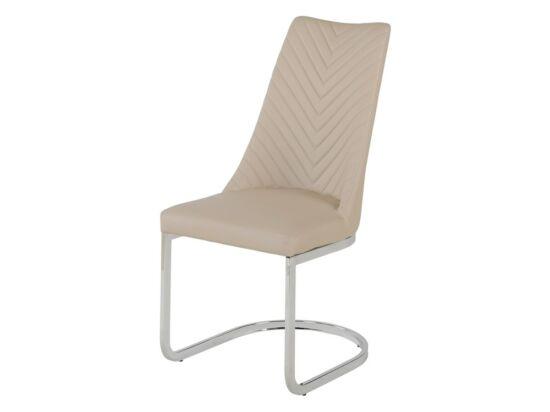 ELEGANCE cappuccino textilbőr szék(2 darabos csomagban rendelhető).