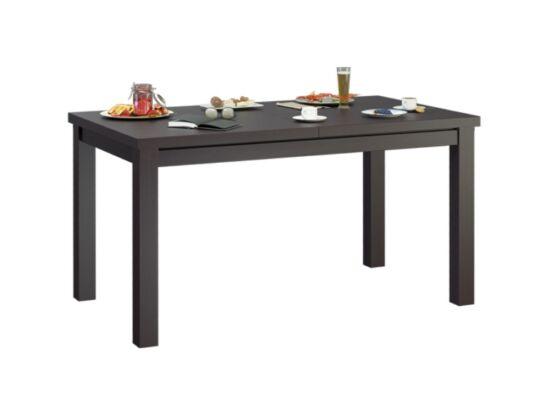 MIRACCO 8 személyes nyitható asztal wenge tölgy színben
