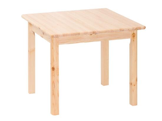 Kihúzható négyzetes fenyő asztal MS-146