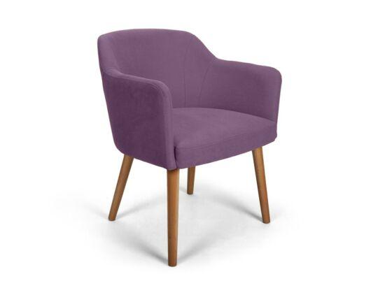 Sofia lila kárpitos szék