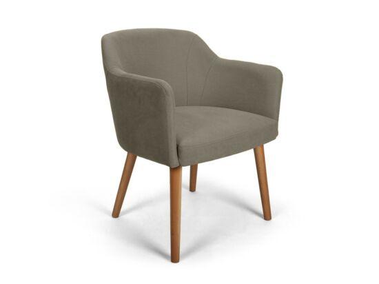 Sofia szürkésbarna kárpitos szék