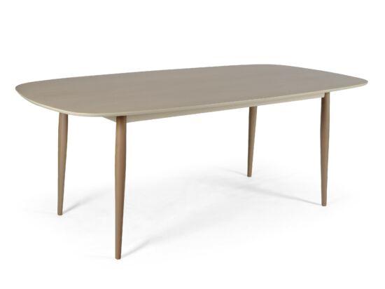 Tokyo étkezőasztal 170x90 cm Szürke asztallap és natúr tölgy lábak