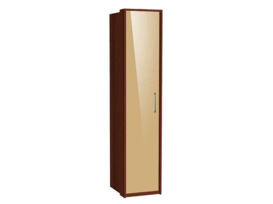 Zeppelin 1 ajtós szekrény cappuccino fronttal
