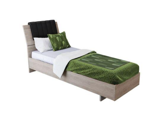 Box ágy matractartóval olasz tölgy színben 90x200